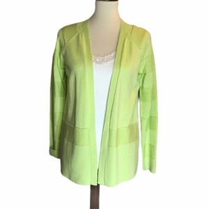 Liz Claiborne Light Green Cardigan NWT